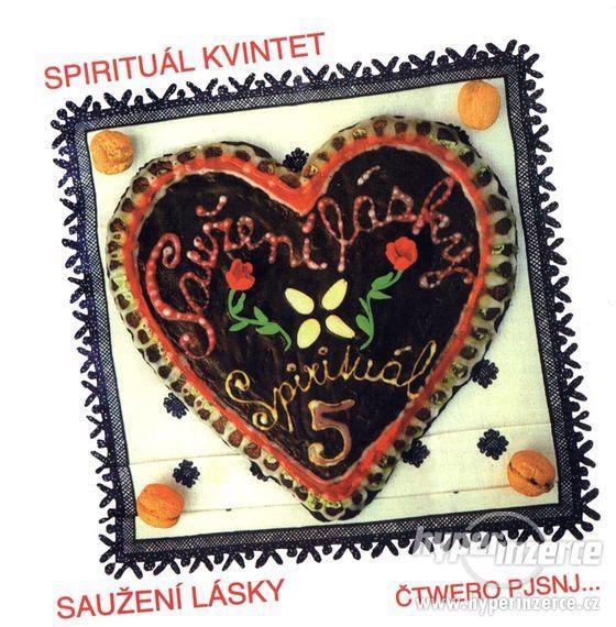 Prodám CD - Spirituál Kvintet - Saužení Lásky