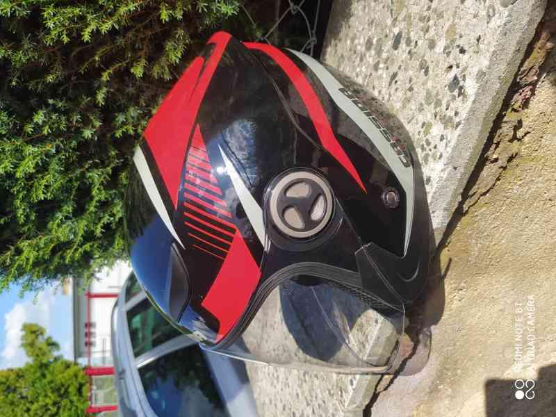 helma na moto levně - foto 5