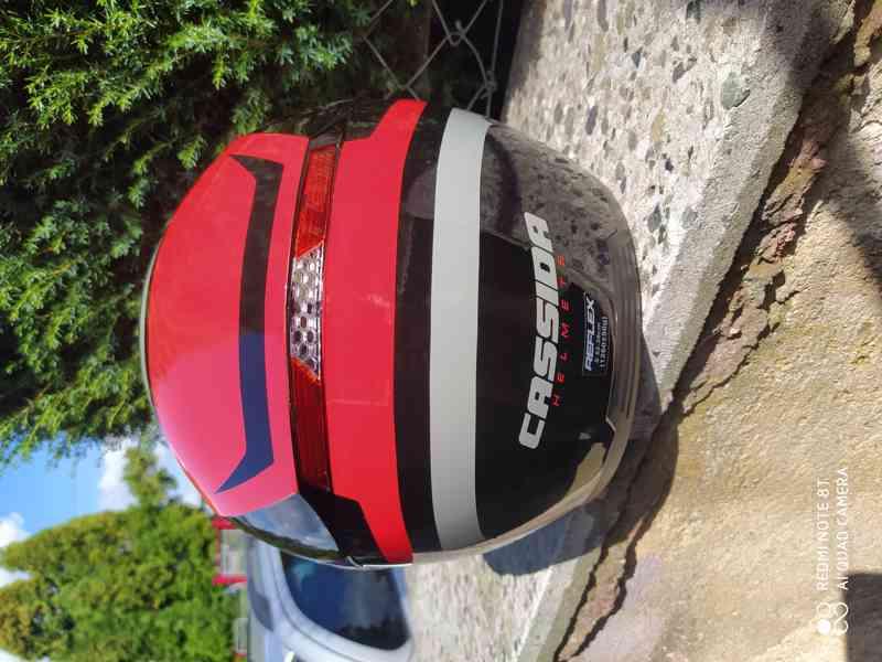 helma na moto levně - foto 6