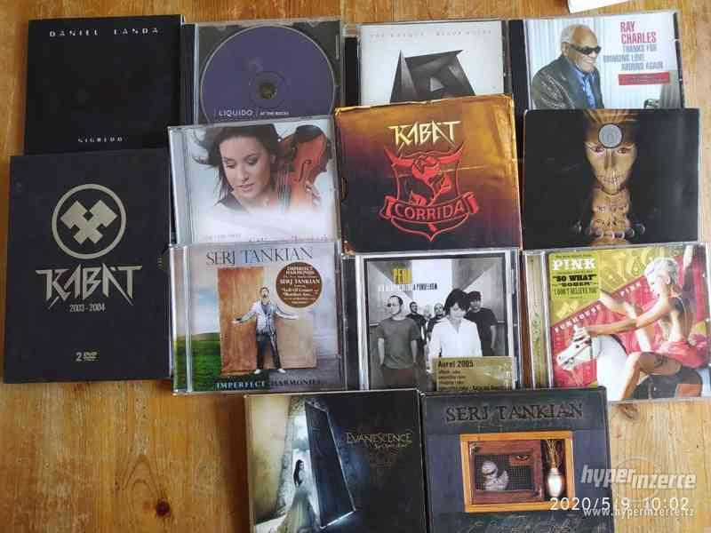 CD originál, různé