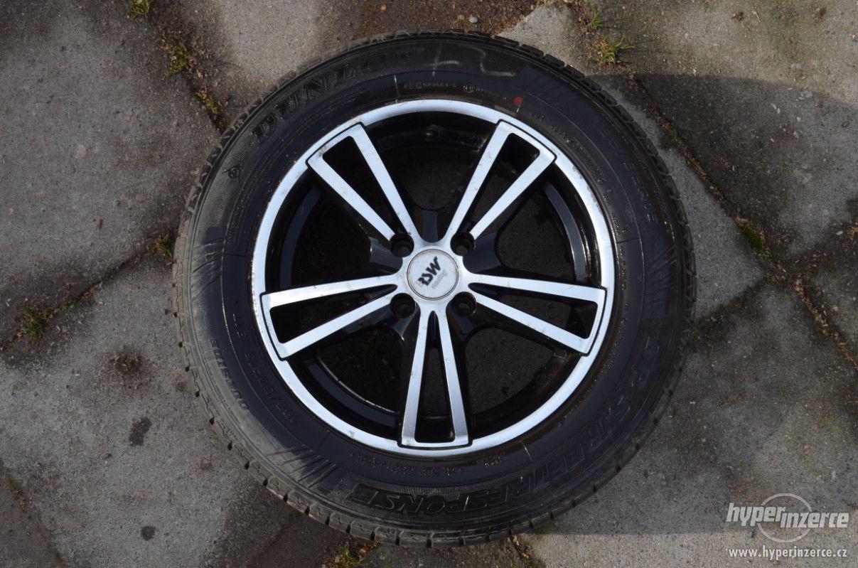 Letní pneumatiky + Alu disky - foto 1