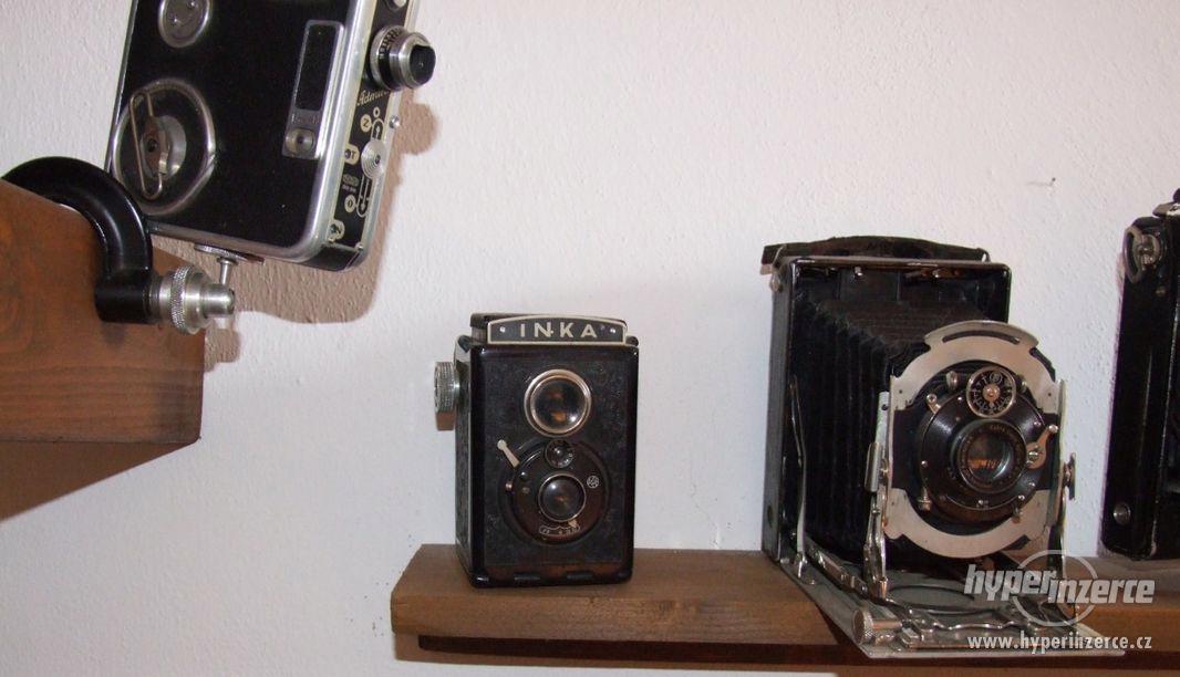 Sbírka retro fotoaparátů a příslušenství. - foto 1