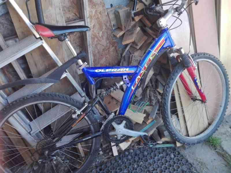 Prodám starší kolo Olpran - foto 3