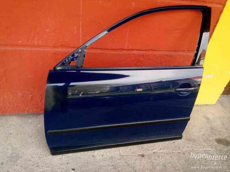 Dveře levé 2 kusy přední zadní z VW Passat 3B - foto 1