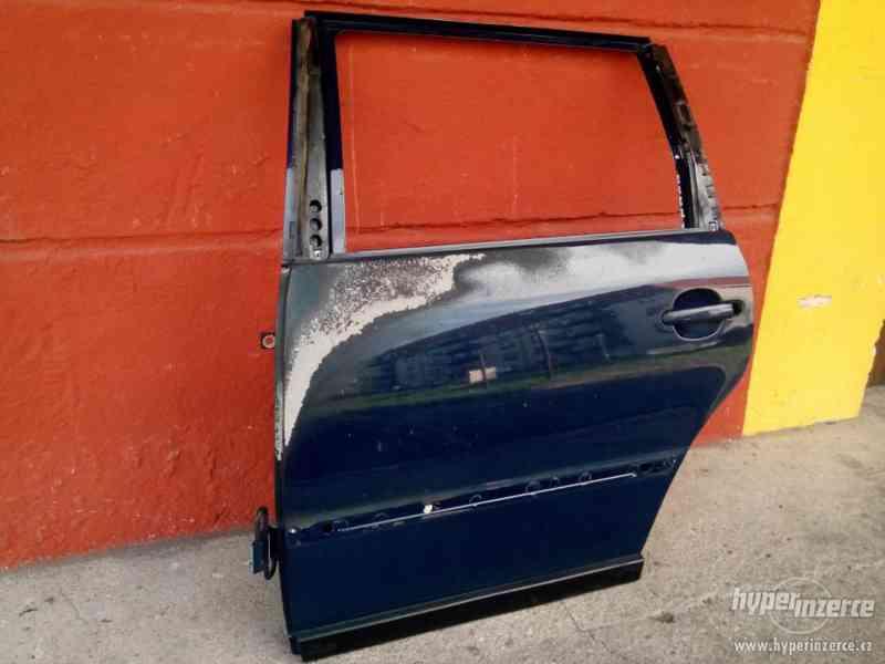 Dveře levé 2 kusy přední zadní z VW Passat 3B - foto 2