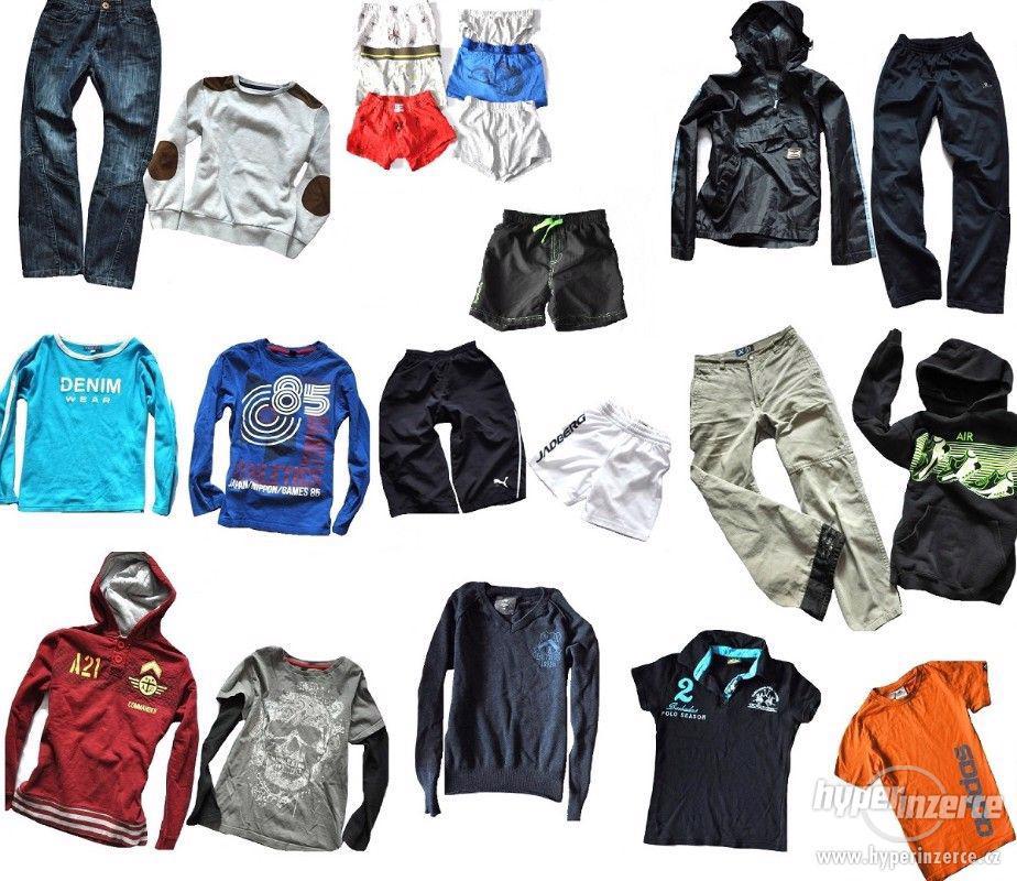 Oblečení pro kluka Adidas, Puma, Nike... Vel. 10-12 let - foto 1