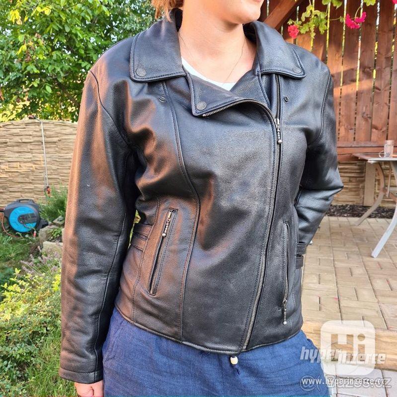 Dámská motorkářská bunda - křivák - foto 1