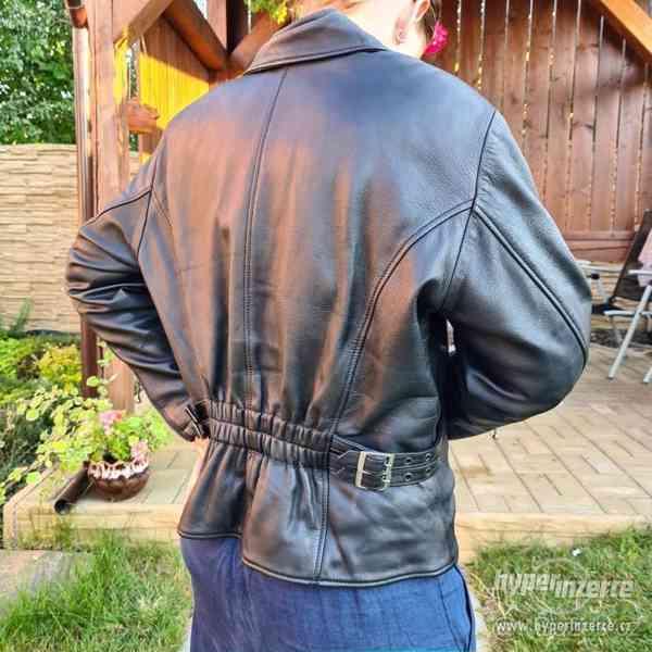 Dámská motorkářská bunda - křivák - foto 2