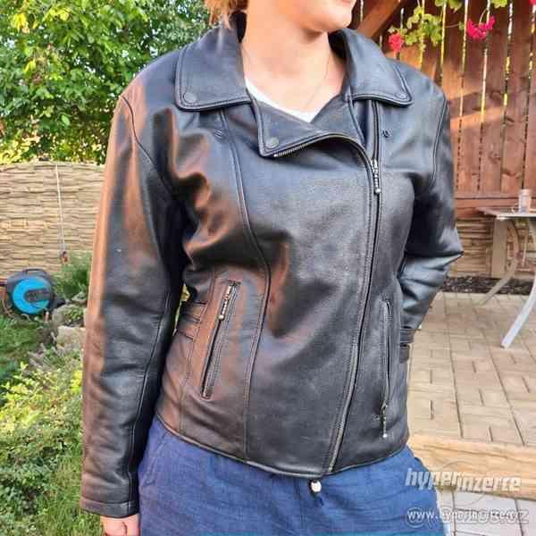 Dámská motorkářská bunda - křivák