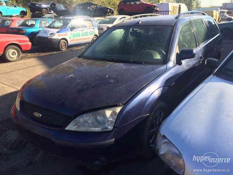 Prodám náhradní díly na Ford Mondeo MK3 2.0 TDCI 96kw - foto 4
