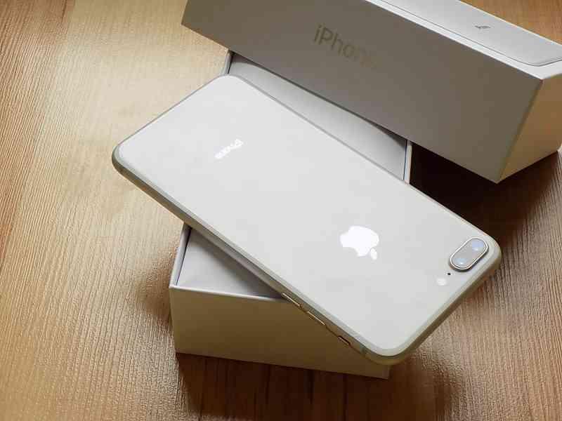 APPLE iPhone 8 PLUS 256GB Silver - TOP STAV - foto 7