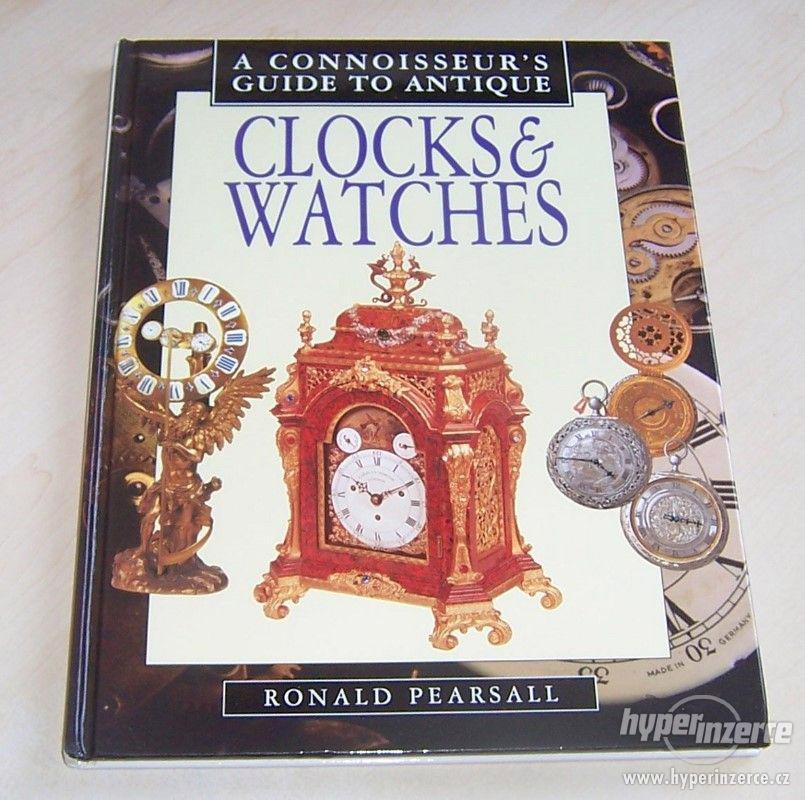 Kniha Odborný průvodce starožitnými hodinami a hodinkami - foto 1