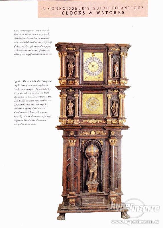 Kniha Odborný průvodce starožitnými hodinami a hodinkami - foto 6