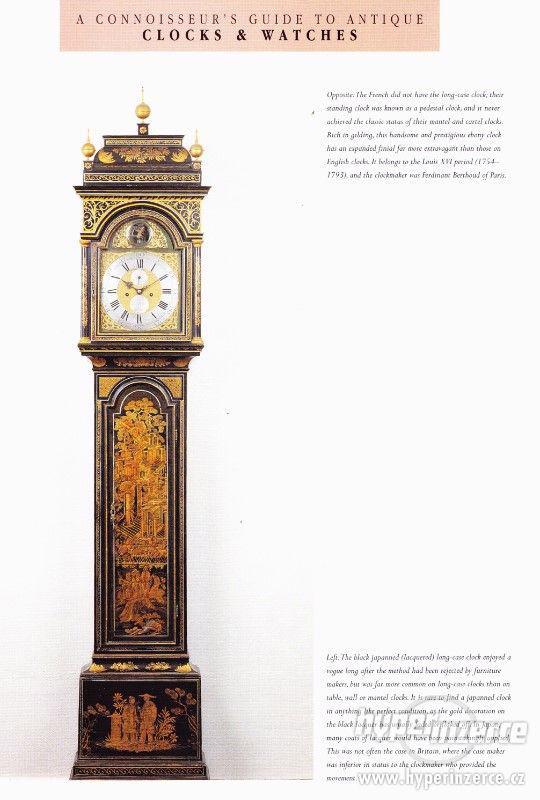 Kniha Odborný průvodce starožitnými hodinami a hodinkami - foto 8