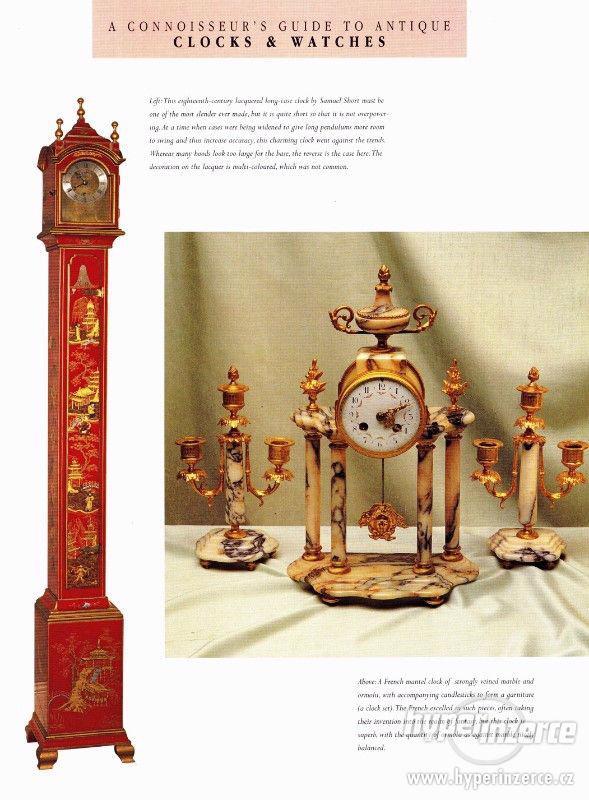 Kniha Odborný průvodce starožitnými hodinami a hodinkami - foto 9