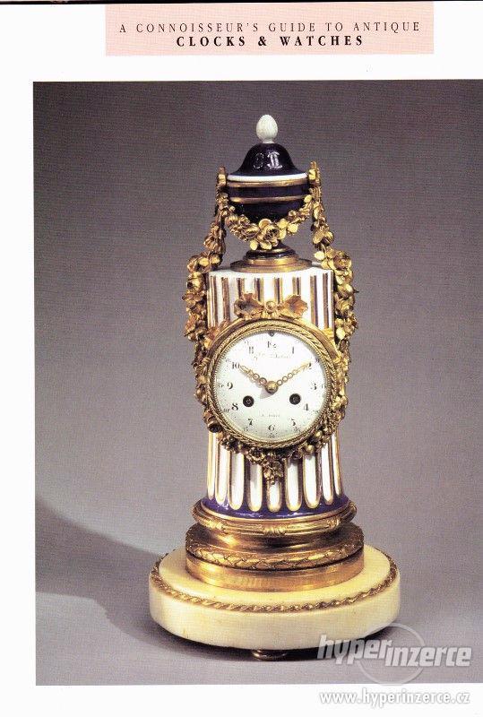 Kniha Odborný průvodce starožitnými hodinami a hodinkami - foto 10