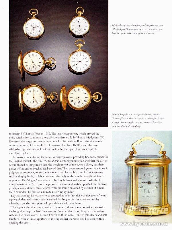 Kniha Odborný průvodce starožitnými hodinami a hodinkami - foto 12