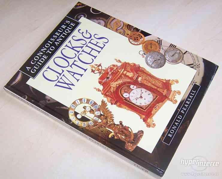 Kniha Odborný průvodce starožitnými hodinami a hodinkami - foto 2
