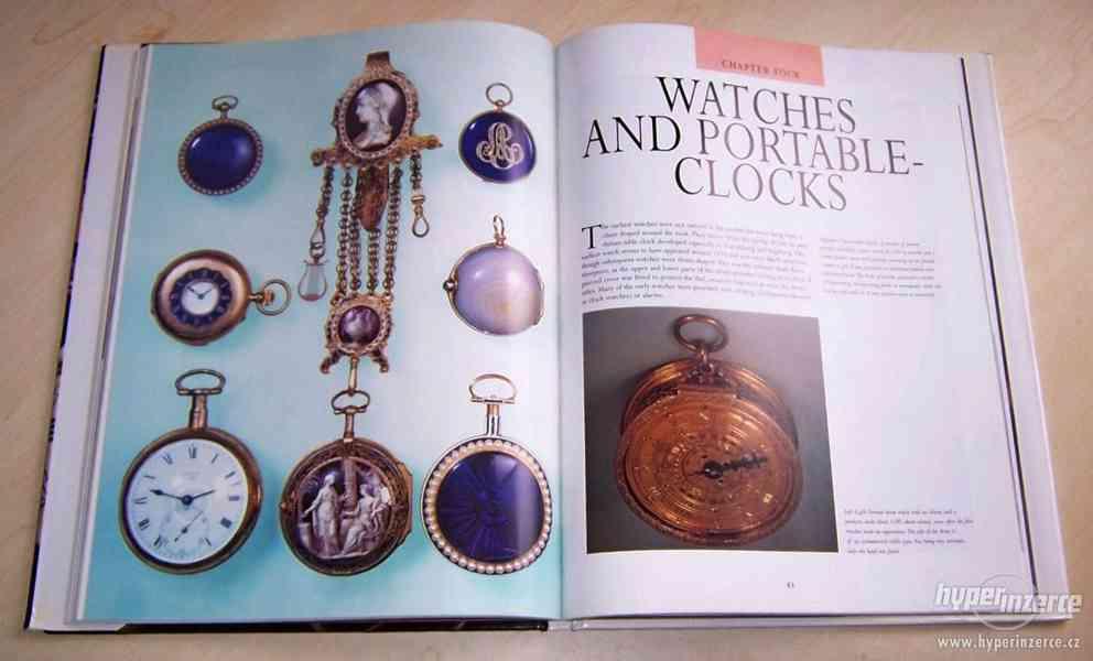 Kniha Odborný průvodce starožitnými hodinami a hodinkami - foto 5