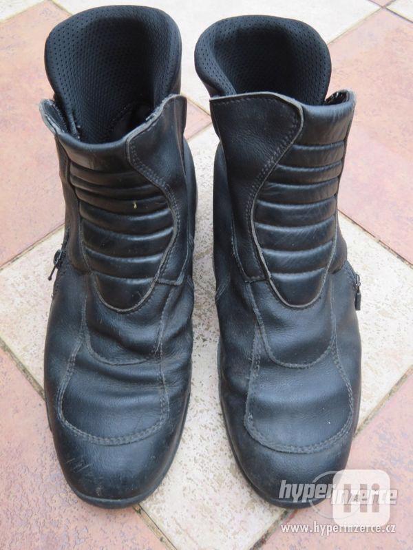 Prodám motorkářské boty
