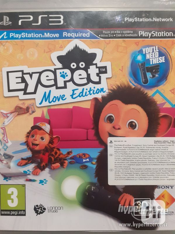Prodám hru na PlayStation 3