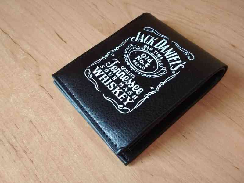 Sada Jack Daniels peněženka a hodinky