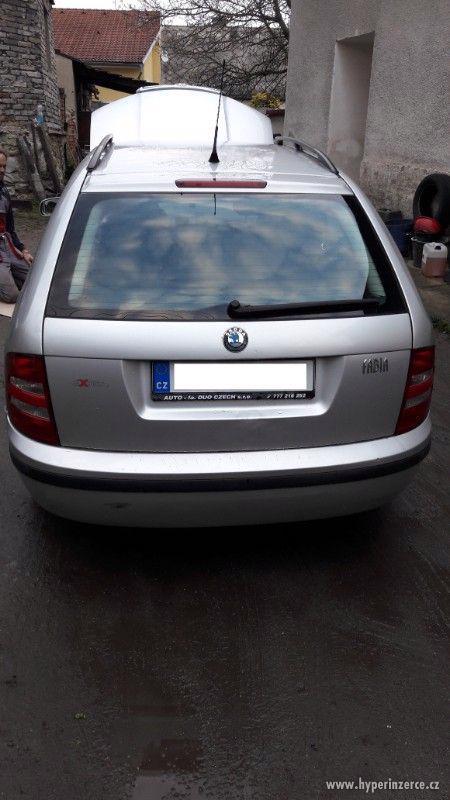 Škoda Fabia 1,9 tdi 74kw