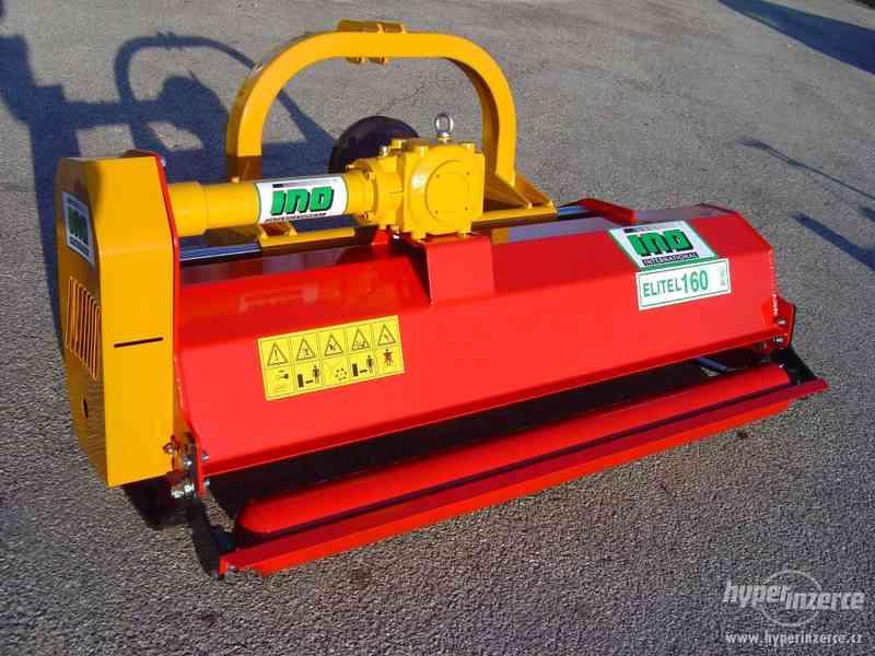 Kladivový mulčovač INO ELITE L 160 pro traktor, malotraktor - foto 4
