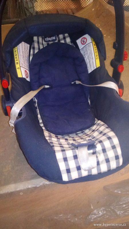 Prodám dětskou autosedačku - foto 1