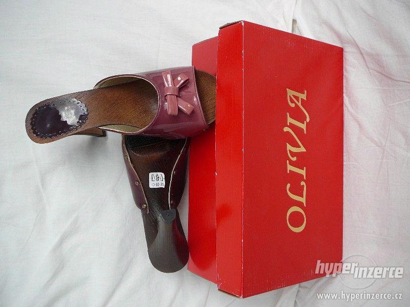 dámské kožené,nové pantofle,vel.38