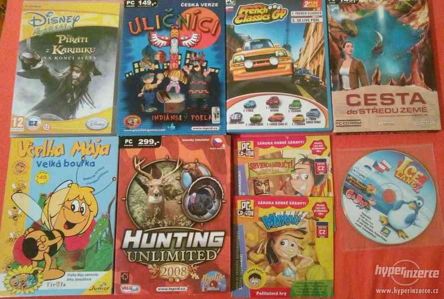 Prodám dětské PC hry - foto 1