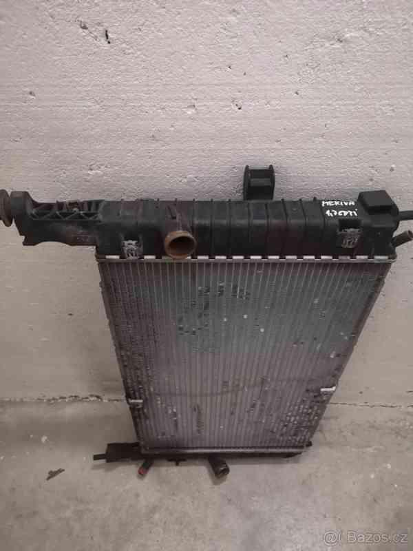 Chladící stěna Opel Meriva I