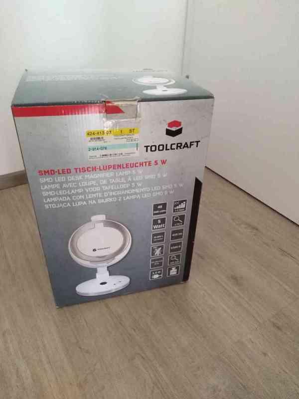 Stolní lupa s LED osvětlením - foto 5