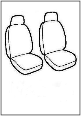 Autopotahy Xtec. pouze pro přední sedačky a vozy Pick Up