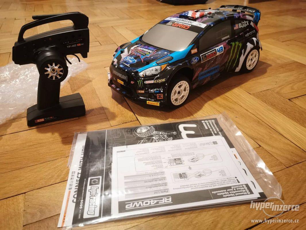 RC model - HPI WR8 FLUX Ken Block 2015 Ford Fiesta ST RX43 - foto 1