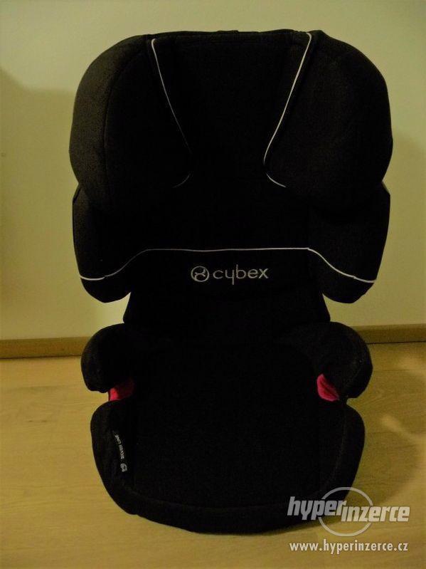 Prodám autosedačku Cybex X-Fix Solution  15-36kg - černá