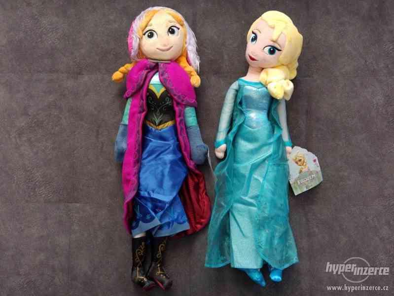 Plyšové panenky Elsa a Anna z Led. království