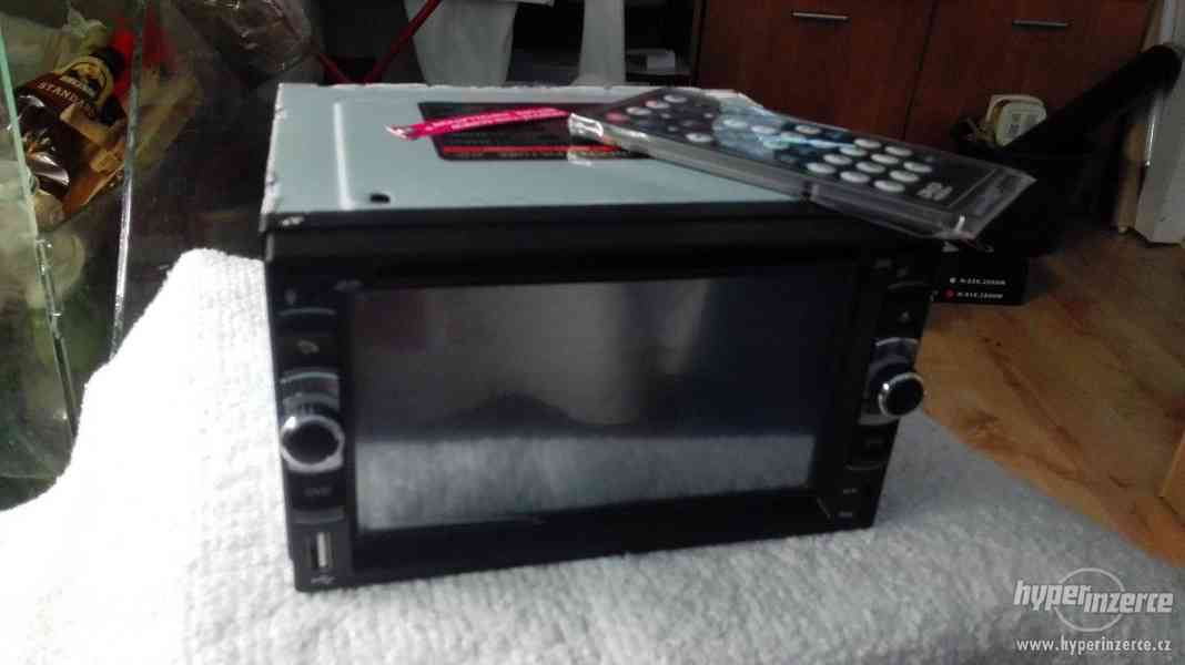 Autoradio 2 din bluetooth,tv tuner,hands free,dvd,usb,sdcard