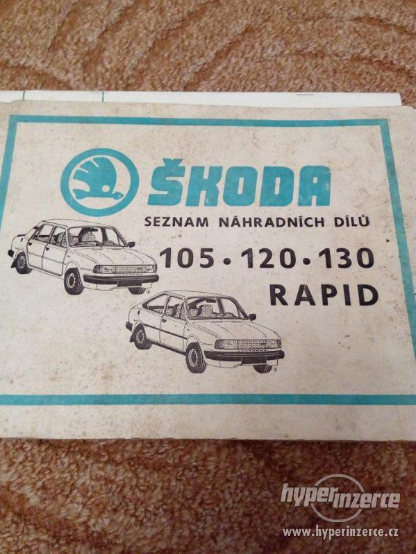 ŠKODA SEZNAM-105-120-130-RAPID