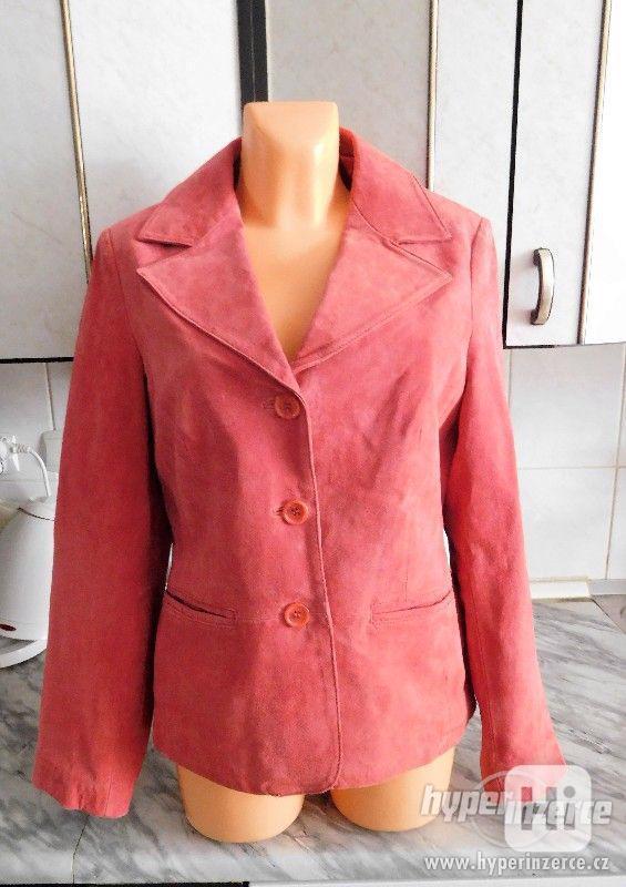 dámský kožený kabátek - sako