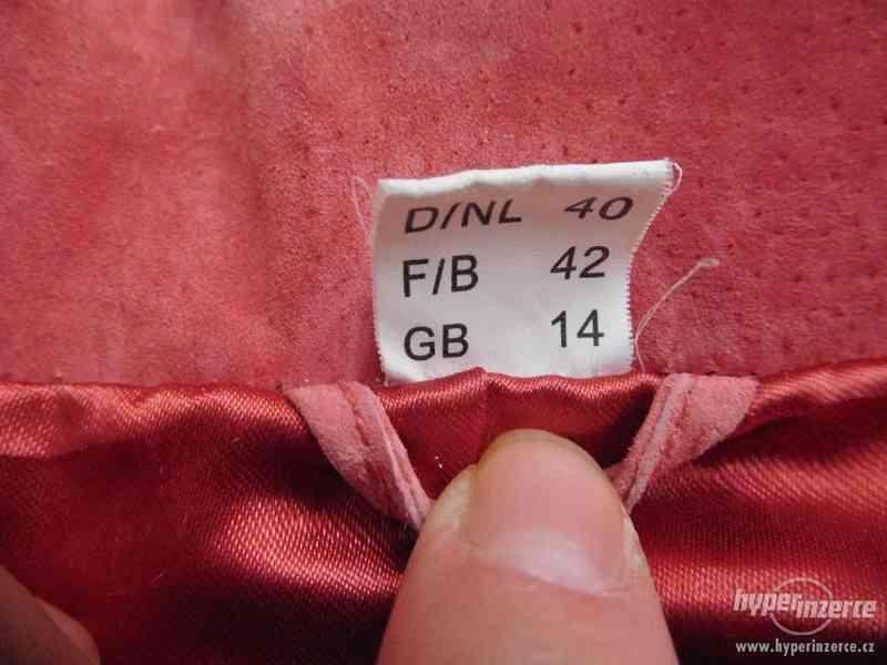 dámský kožený kabátek - sako - foto 7