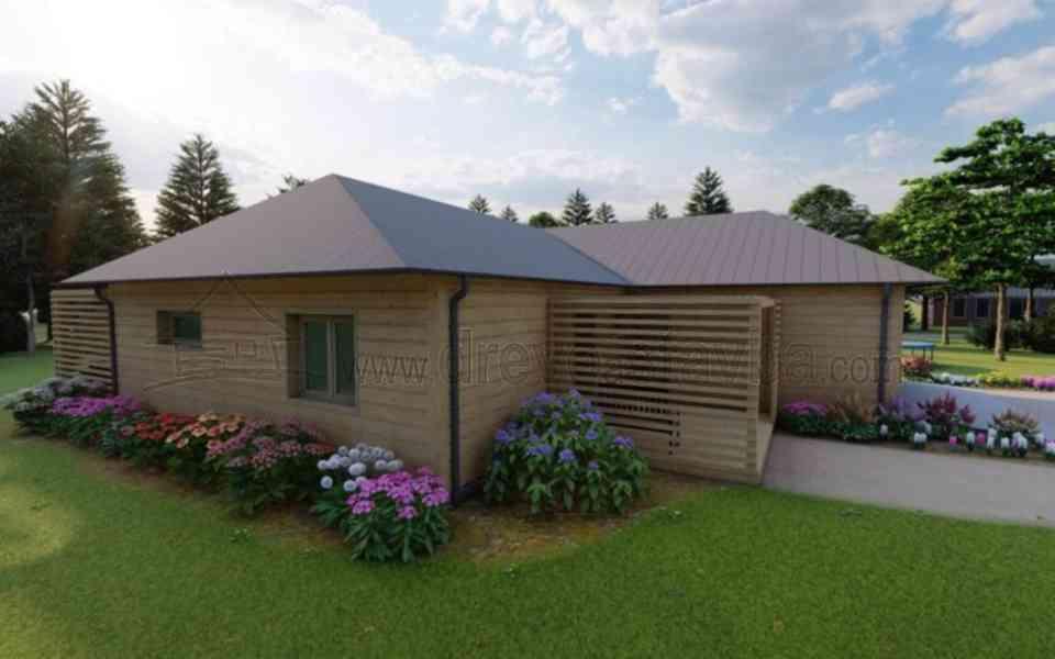 Výstavba dřevostaveb rodinných domů  - foto 1