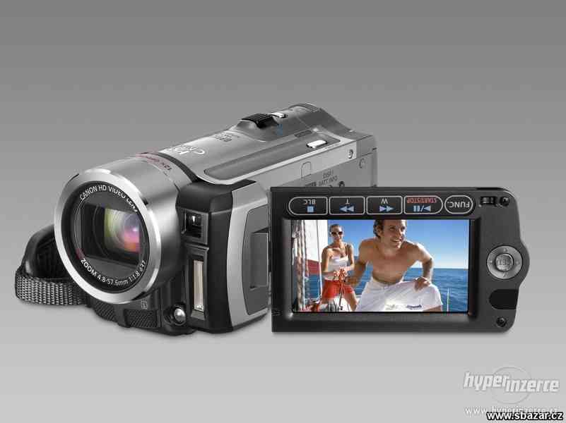 Full hd kamera canon hf100 + 2. Baterie + 8gb sd + brašna
