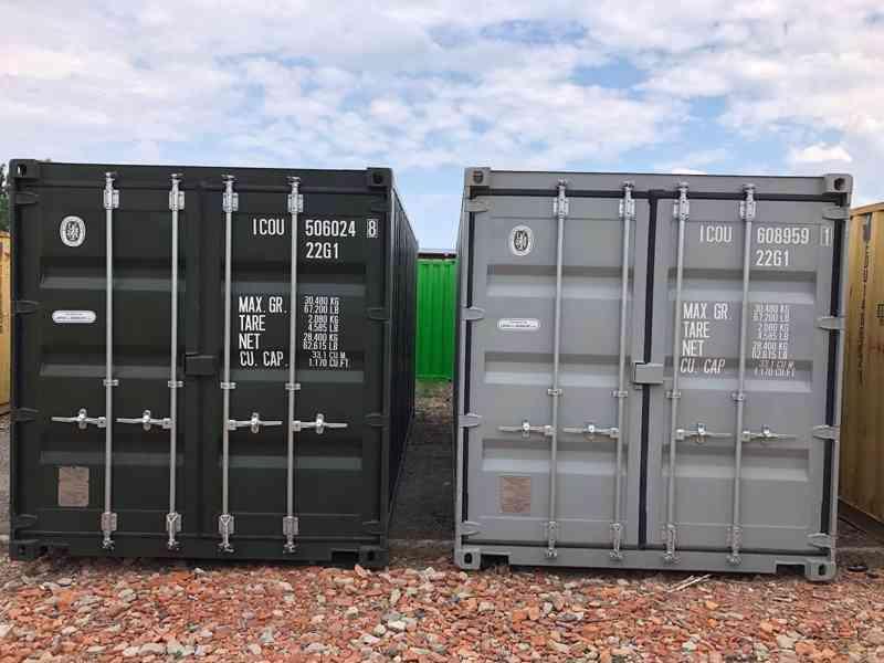 Skladové ISO kontejnery (lodní/námořní), SKLADEM