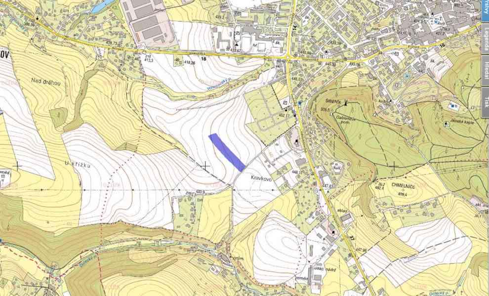 Prodej pozemku - Trutnov - Bojiště 990 Kč m2 - foto 2