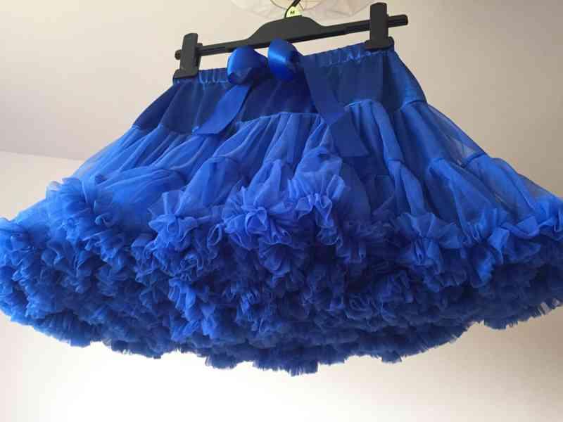 Dolly sukně dětské/dívčí bohatě řasené