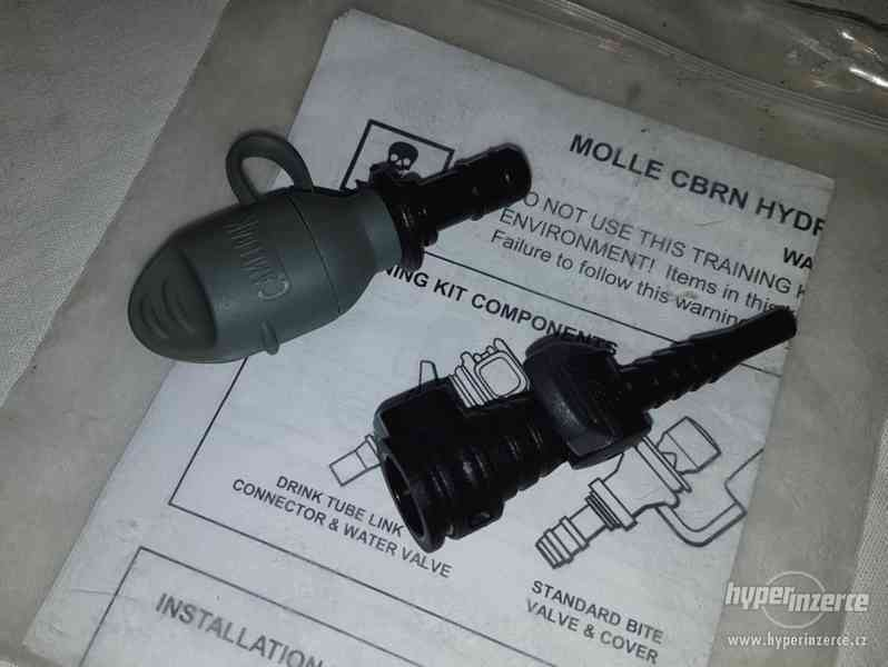US Army Camelbak náustek, ventil, M40/M50 adapter