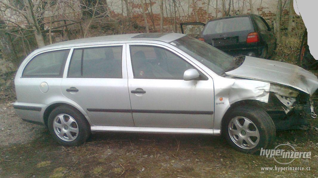Prodám náhradní díly z vozu Škoda Octavia I., 1.9. TDI 66 kW - foto 1
