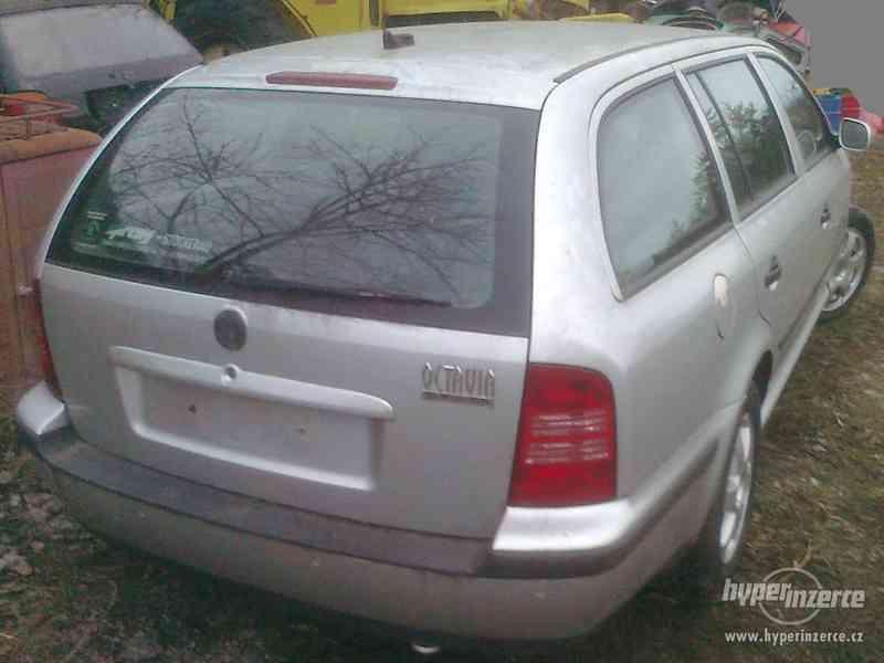 Prodám náhradní díly z vozu Škoda Octavia I., 1.9. TDI 66 kW - foto 2