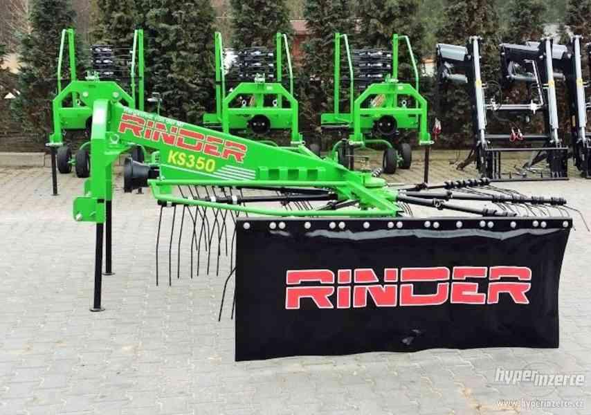 Shrabovač sena Rinder KS 350